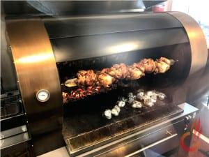 Rôtisseries de poulet au charbon de bois, Vulcano Gres